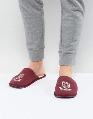 Ralph Lauren Heritage Scuff Slippers
