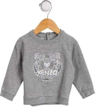 Kenzo Boys' Embroidered Crew Neck Sweatshirt