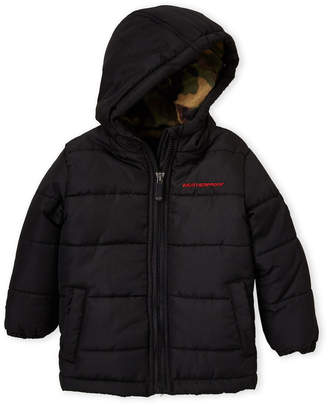 208a2ece Weatherproof Infant Boys) Fleece-Lined Puffer Coat