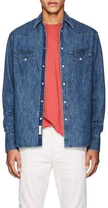 Rag & Bone Men's Beck Denim Western Shirt