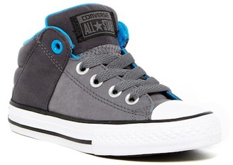 Converse Chuck Taylor(R) All Star(R) Axel Mid Slip-On Sneaker (Little Kid & Big Kid) $45 thestylecure.com