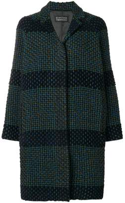 Gianluca Capannolo knitted single-breasted coat