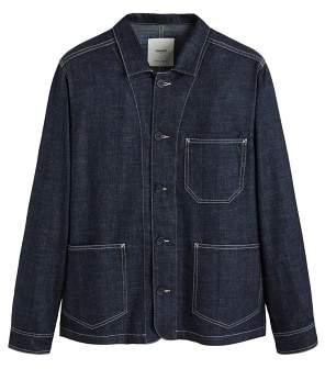 Mango Man MANGO MAN Pocket denim overshirt