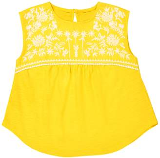 abcd'R Embroidered Vest Top, 3-12 Years