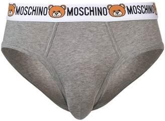 Moschino teddy bear logo briefs