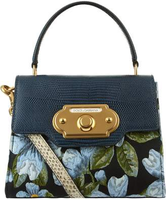 Dolce & Gabbana Floral Tapestry Welcome Bag