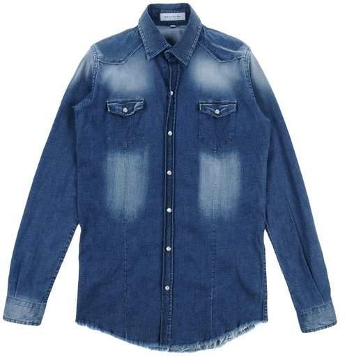 BRIAN RUSH Denim shirt