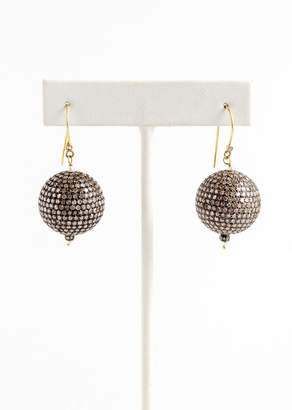Vinesh Small Diamond Ball Earrings