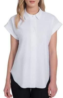 Lysse Plus Rosa Striped Shirt