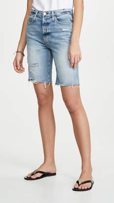 Amo Long Loverboy Cut Off Shorts