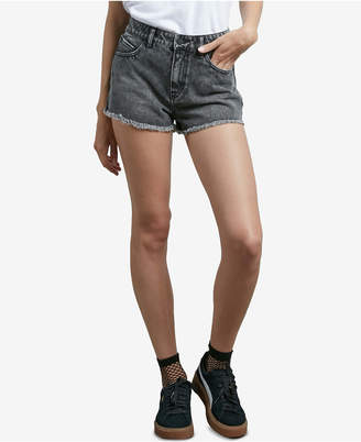 Volcom Juniors' Cotton Denim Shorts