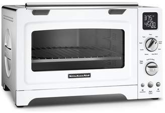 KitchenAid 12 Digital Countertop Convection Oven in White