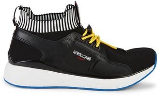 Roberto Cavalli Sport Knitted Sock Sneakers