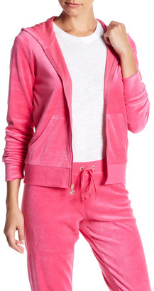 Juicy Couture Robertson Velour Front Zip Jacket $88 thestylecure.com