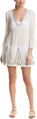 Shoshanna Embroidered Tunic