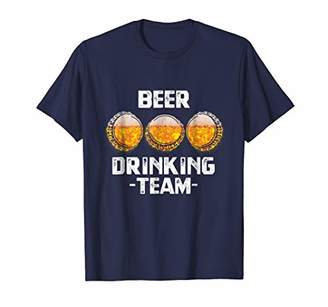 Funny Beer Drinking Team Drunking Party Gift Tshirt