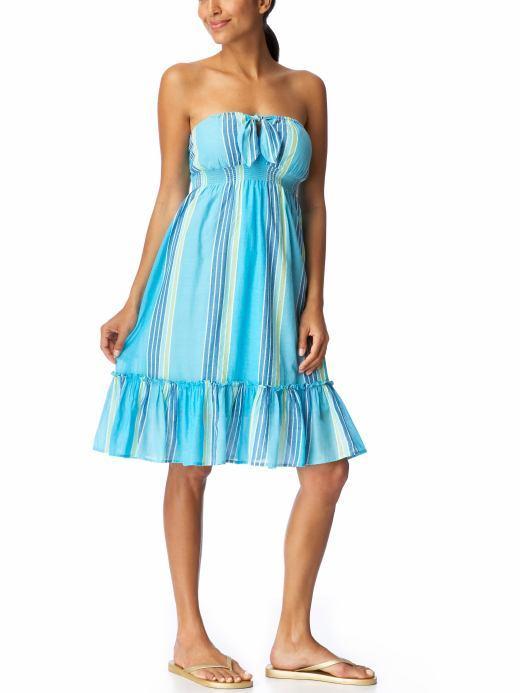 Women's Smocked Tube Dresses