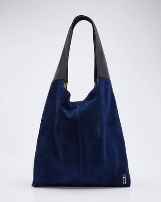 Hayward Grand Suede & Leather Shopper Tote Bag