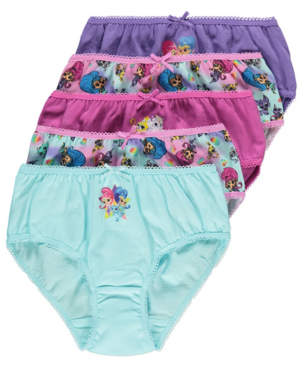 George Shimmer and Shine Briefs 5 Pack