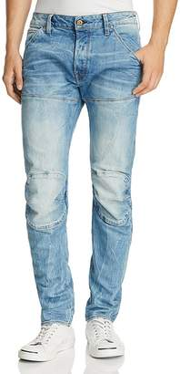 G Star 5620 3D New Tapered Fit Jeans in Medium Age
