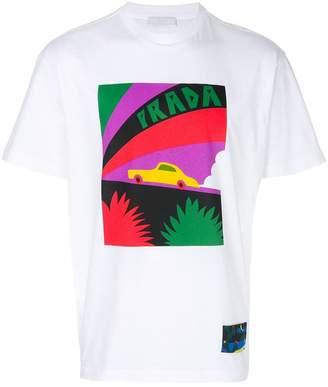 Prada car print T-shirt