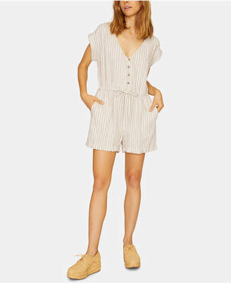 Sanctuary Leo Soft Short-Sleeve Romper