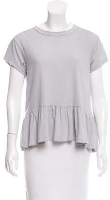 The Great Ruffled Short Sleeve Top w/ Tags