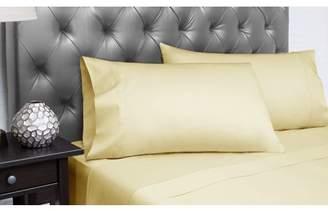 Spectrum Home Textiles Organic Cotton T-300 Cal King Gold Sheet Set