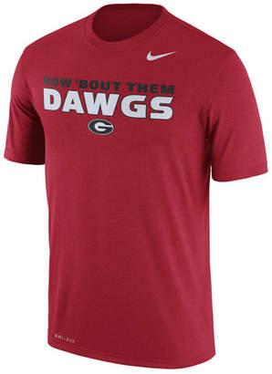 Nike Men Georgia Bulldogs Legend Verbiage T-Shirt