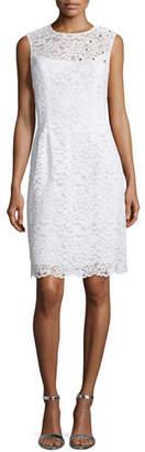 Rickie Freeman for Teri Jon Sleeveless Lace Sheath Dress $530 thestylecure.com