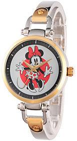 Disney Minnie Mouse Women's Two-Tone Bracelet Watch $59.99 thestylecure.com
