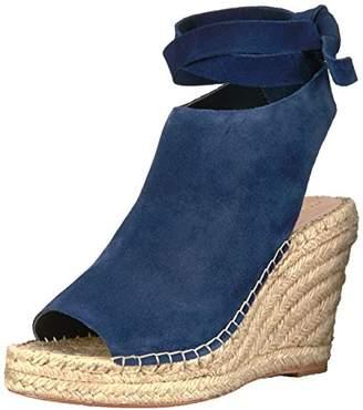 Loeffler Randall Women's Lyra Ankle Tie Espadrille Wedge (Suede) Sandal