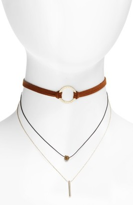 Women's Panacea Layered Choker Necklace $32 thestylecure.com