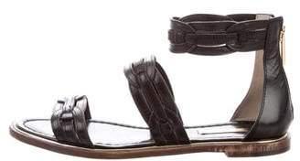 Louise et Cie Leather Ankle Sandals