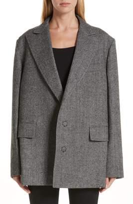 Junya Watanabe Slit Sleeve Wool Jacket
