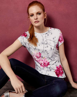Ted Baker MIRIALL Babylon fitted T-shirt