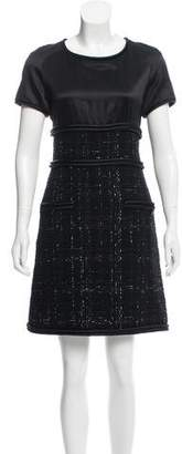 Chanel Silk-Accented Mini Dress w/ Tags