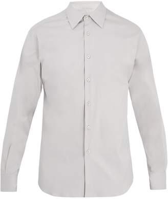 Prada Classic-fit poplin cotton-stretch shirt