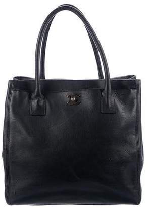 Chanel Tall Executive Cerf Tote