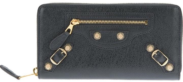 Balenciaga stud detail purse