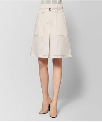 Bottega Veneta Mist Cotton Skirt