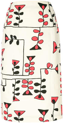 Marni printed skirt