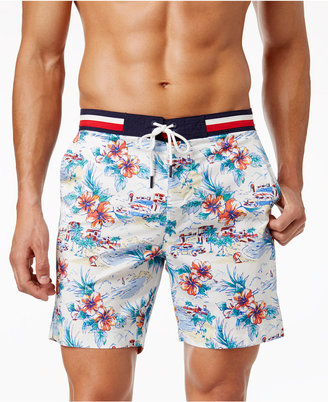 Tommy Hilfiger Men's Ocean Hill Floral Stretch Board Short $59.50 thestylecure.com