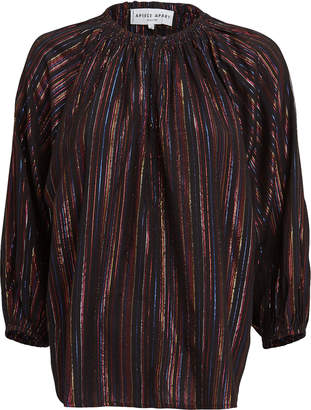 Apiece Apart Isla Lurex Blouse