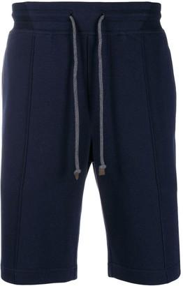Brunello Cucinelli panelled bermuda shorts