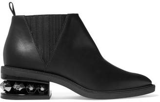 Nicholas Kirkwood Suzi Studded Leather Ankle Boots - Black