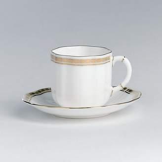 "Carlton Royal Crown Derby Gold"" Coffee Saucer"