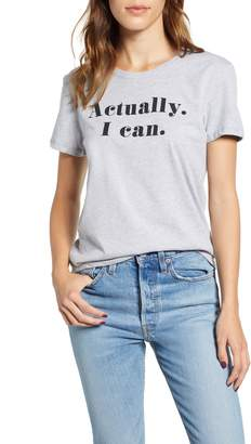 PRINCE PETER Actually I Can Graphic Tee