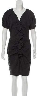 Etoile Isabel Marant Ruffled Linen Dress