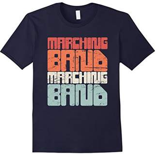 Retro Distressed Marching Band T-Shirt